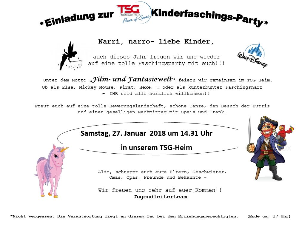 Kinderfasching2018